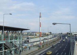 The Passenger Boarding Area at the Piraeus port authorities