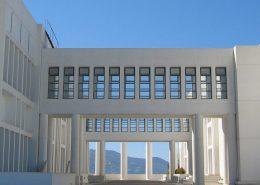 Τhe University of Rethymn on the island of Crete